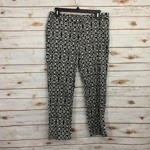 Laundry by Shelli Segal Ikat Cropped Career Pants
